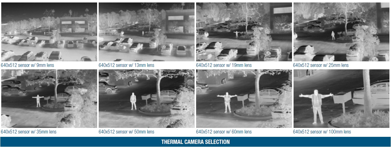 thermal camera selection